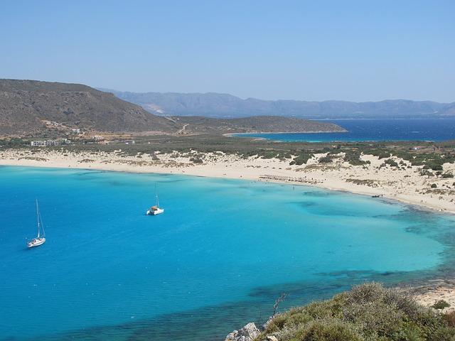 sailing in greece